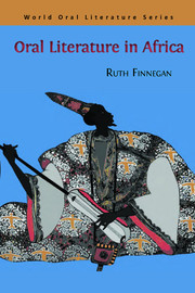 Oral Literature in Africa