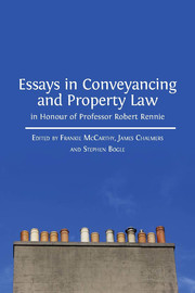 Essays in Conveyancing and Property Law