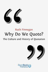 Why Do We Quote?