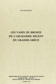 Chapitre IV. Le cratère de Vix et l'origine des vases de Paestum