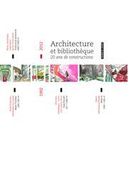Architecture et bibliothèque