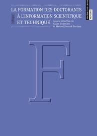 La formation des doctorants à l'université Pierre et Marie Curie: l'Institut de Formation doctorale, la bibliothèque universitaire Pierre et Marie Curie et l'UFR de chimie