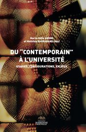 La bibliothèque universitaire et la valeur littéraire du contemporain