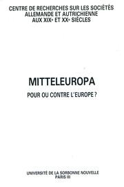 Persévérer dans la construction d'une Europe libre...