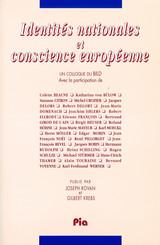 Identités nationales et conscience européenne