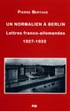 Les «années folles» de Berlin (1927-1933)