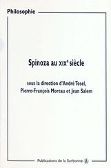 Spinoza au XIXe siècle