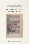 Le clerc séculier au Moyen Âge