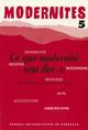 De la notion de modernité en chinois moderne : champs sémantiques et applications
