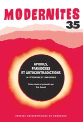 Apories, paradoxes et autocontradictions
