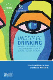 Chapter 1. Underage Drinking in Europe and North America