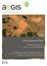 Excavations at Sissi III