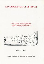 La correspondance de Proust