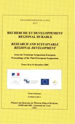Recherche et développement régional durable