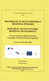 Sustainability and EU structural Funds Lessons from the experiences of 12 pilot regions