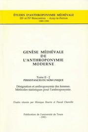 Les femmes de Gascogne et leur nom d'après le cartulaire de Berdoues (milieu xiième-milieu xiiièmesiècle)