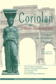 La violence du corps dans Coriolan
