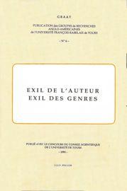 Exil de l'auteur, exil des genres