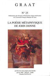 La poésie métaphysique de John Donne