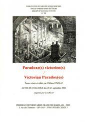 Paradoxe(s) victorien(s) – Victorian Paradox(es)