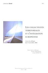 Les collectivités territoriales et l'intégration européenne