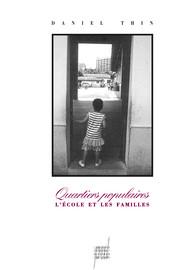 Chapitre 5. Les pratiques socialisatrices des familles populaires: des pratiques non scolaires de socialisation