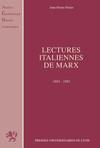 Lectures italiennes de Marx