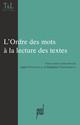 Détachements, ordre des syntagmes et construction du texte: de quelques problèmes syntactico-pragmatiques chez Beckett, Pinget et Simon