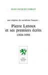 Aux origines du socialisme français