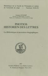 Photios historien des lettres
