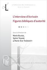 L'interview d'écrivain. Figures bibliques d'autorité