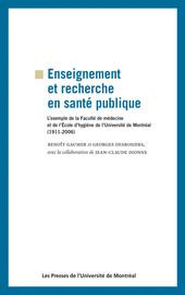 Enseignement et recherche en santé publique