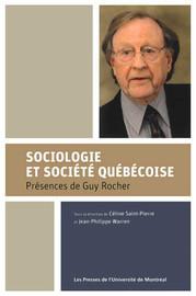 Sociologie et société québécoise
