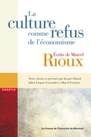 La culture comme refus de l'économisme