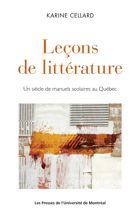 Transmission et héritages de la littérature québécoise