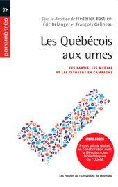 12. Un modèle général d'explication du vote des Québécois