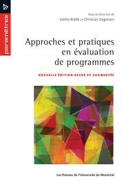 2. Recherche et évaluation de programmes