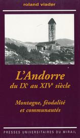 L'Andorre du ixe au xive siècle