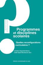 Programmes et disciplines scolaires