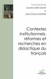L'enseignement par compétences en français: des textes légaux à l'épreuve du terrain