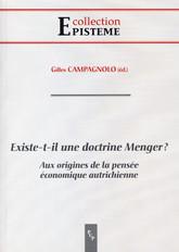 Existe-t-il une doctrine Menger?