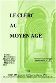 Le clerc: personnage de la fiction / personnage-fiction