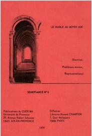 Le diable dans les Contes de Cantorbery (contribution à l'étude sémantique du terme devil)