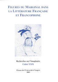 Figures du marginal dans la littérature française et francophone