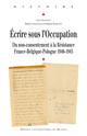 Usages de la presse clandestine dans la Résistance française