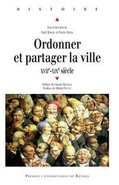Déjouer l'ordre public et créer un ordre urbain: la convivance à Marseille au XVIIIe siècle