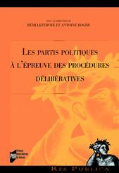 Les partis politiques àl'épreuve des procédures délibératives
