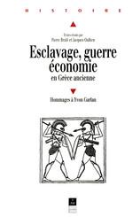 Esclavage, guerre, économie en Grèce ancienne