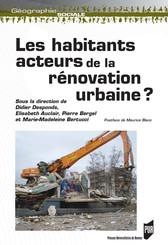 Les habitants : acteurs de la rénovation urbaine ?