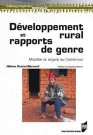 Développement rural et rapports de genre